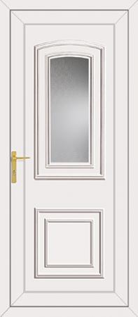 Reagan Glazed UPVC Back Door